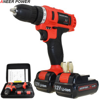 12v Electric Screwdriver Power Tools 1.5Ah Li ionbattery Capacity Drill Electric Drill Batteries Screwdriver Mini Cordless Drill