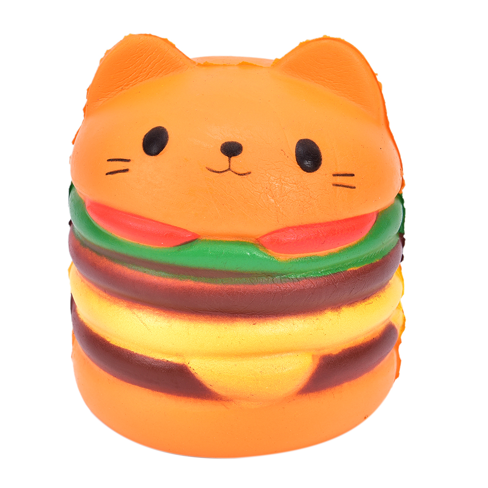 Dutiful Jumbo Squishy Toys Children Slow Rising Antistrss Toy Cat Hamburger Fries Squishies Stress Relief Toy Phone Strap Good Companions For Children As Well As Adults Cellphones & Telecommunications
