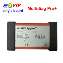 New Design 2014.R2/R3 Single Board Selling Multidiag Pro no Bluetooth For Cars/Trucks TCS CDP cdp pro Car Diagnostic Tool