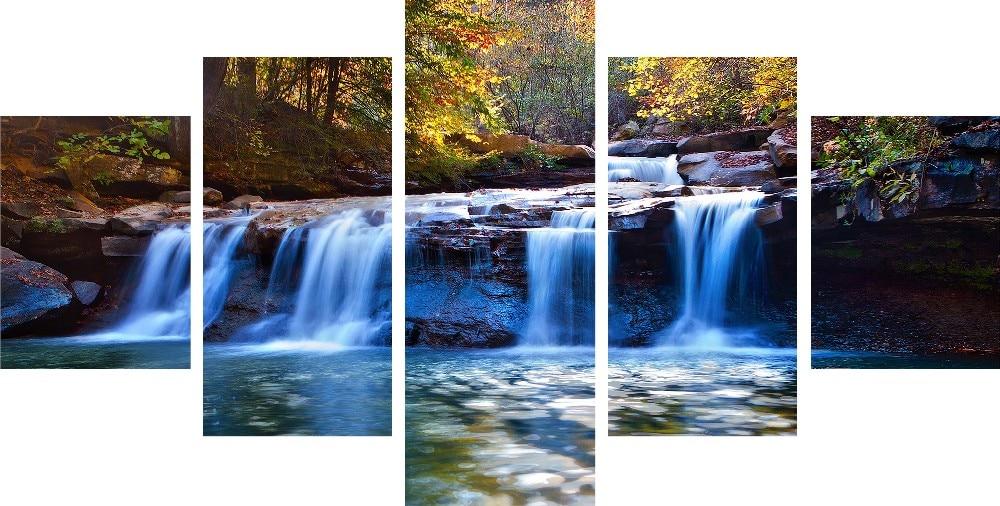 Waterfall Wall Art online get cheap waterfall canvas wall art -aliexpress