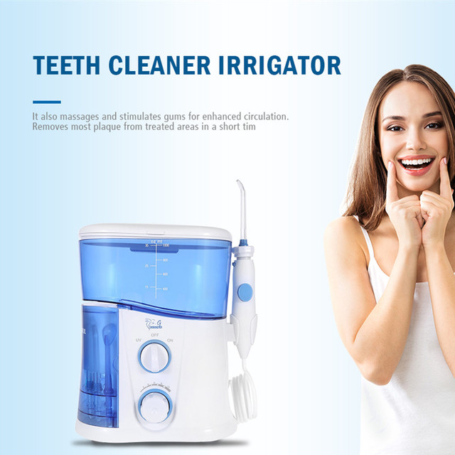 8cacf0512 Gustala 600ML 1000ML Electric Oral Irrigator Dental Flosser Power Water Jet  Oral Care Portable Oral