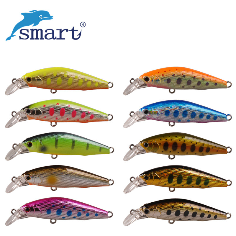 Smart Minnow 5cm/4.2 g Fishing Plastic Lure Sinking VMC Hook Isca De Pesca Leurres Dur Peche Brochet Wobbler Artificial Lure рюкзак deuter daypacks giga bike 28l 2015 turquoise midnight