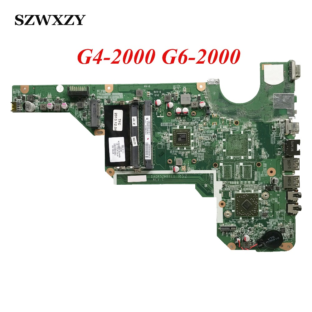 For HP G4 2000 G6 2000 Laptop Motherboard 697230 001 697230 501 DA0R52MB6E0 Full Tested Free
