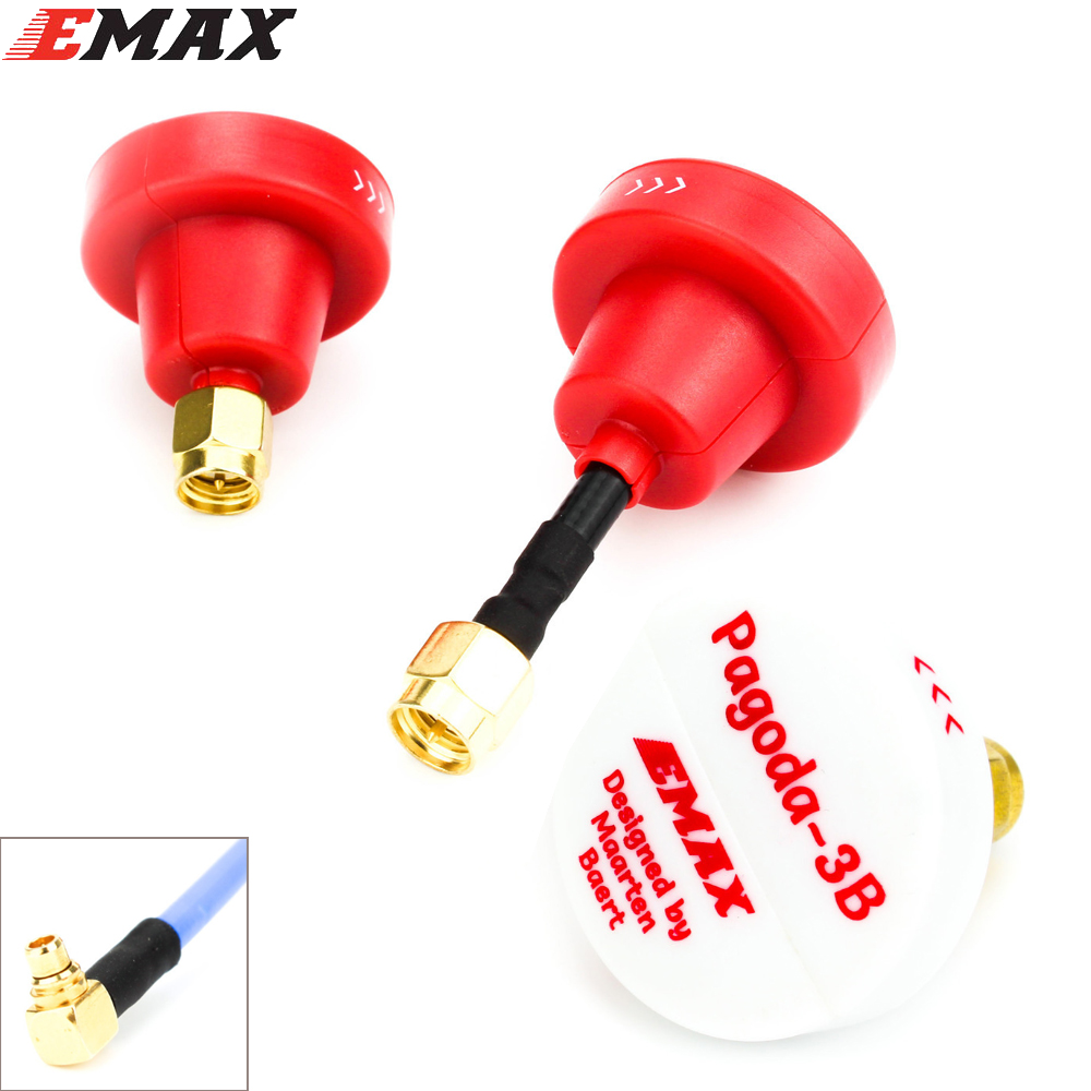 Original EMAX Pagode 3B durch Maarten Baert VTX Antenne Pagode Pro pagode 2 mmcx Antena FPV für RC Quadcopter