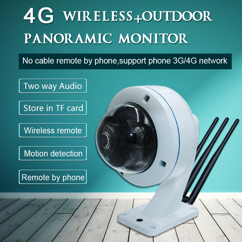 SSYING 3G/4G IP camera Sim Card CCTV panoramic TF card ...
