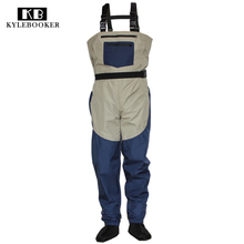 Fly Fishing Stocking Foot Wader Affordable Breathable Waterproo Chest Wader