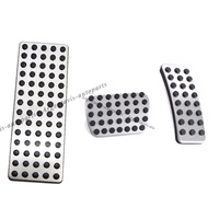 car pedal pad cover accelerator brake clutch stainless for benz ML300/350/450/500/550/63 GL350/450/500/550 R300/320/350/500