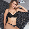 Newest Intimates Women Sexy Lace Bra Set Deep V Push Up Lace Lingerie Underwire Bras Sexy