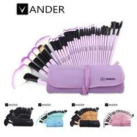 Vander Professional 32 Pcs Cosmetic Makeup Make Up Brushes Set Face Eye Powder Foundation Beauty Toiletry