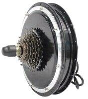 Ступичный электродвигатель электровелосипеда 36 В в В 48 1500 Вт заднее колесо 145 мм Электрический велосипед Бесщеточный Gearless для Велоспорт пре