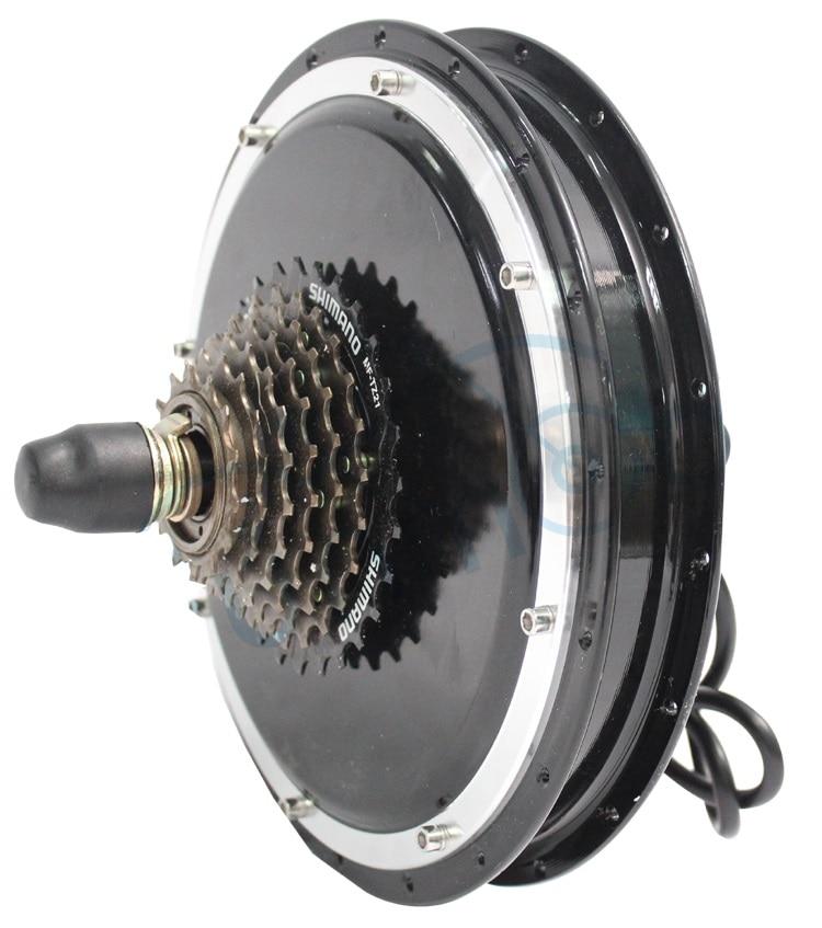 Ebike hub motor 36v 48v 1500w rear wheel 145mm electric for Electric bike rear hub motor