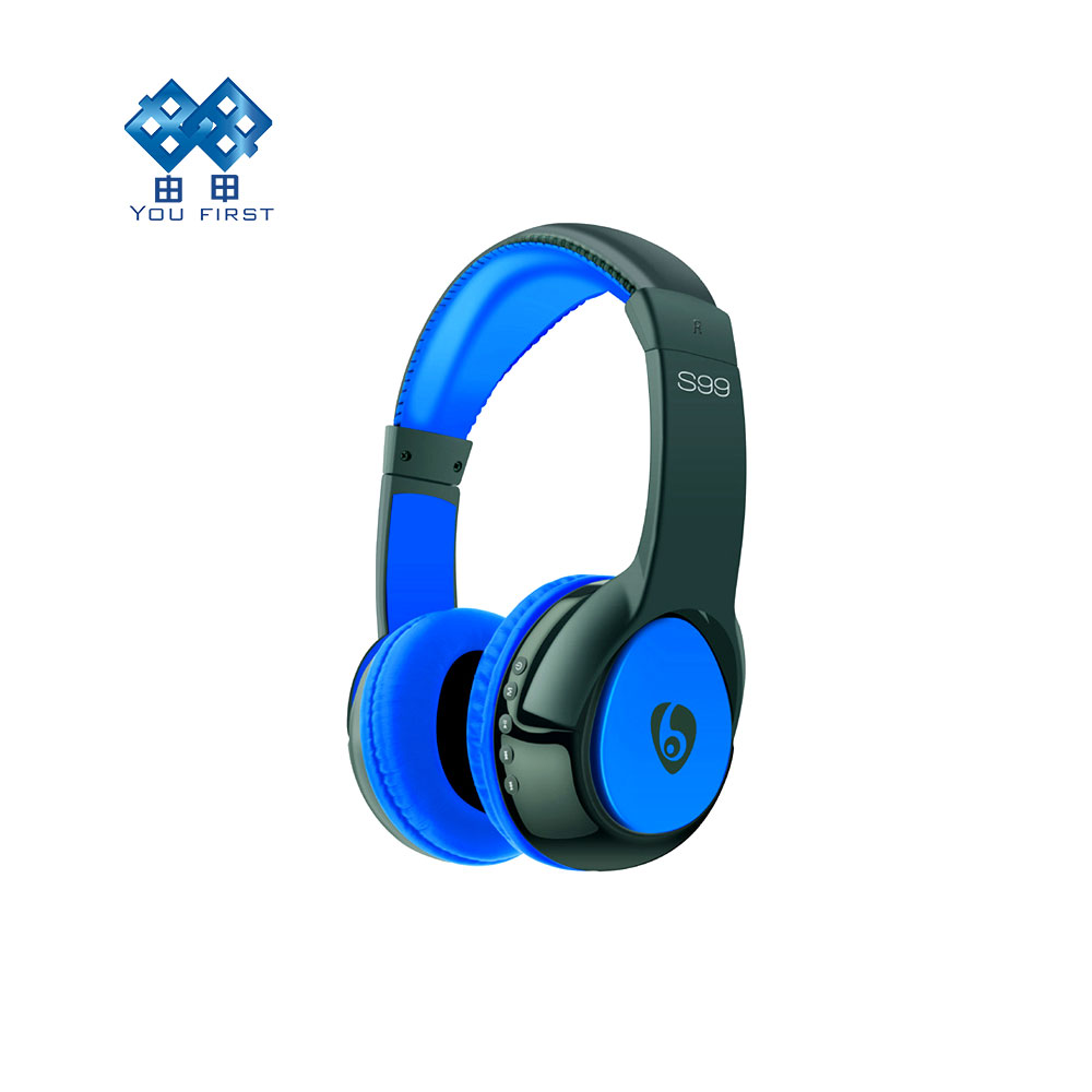 YOU FIRST Wireless Headband Bluetooth S99 Stereo Headset Noise Cancelling Headphone audifonos gamer Cuffie Earphone With Mic qcy q25 bluetooth 4 1 earphone wireless noise cancelling headphone