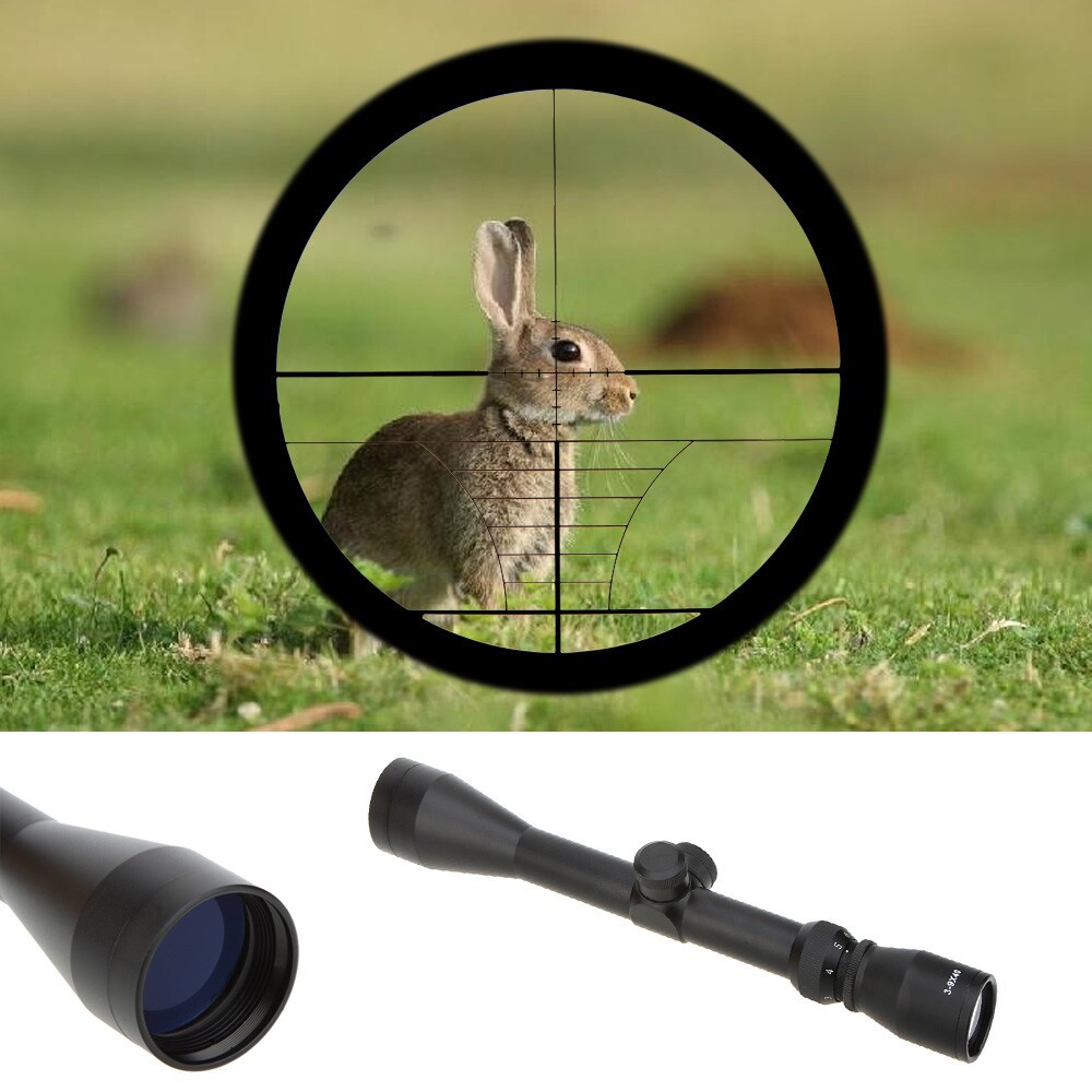 Free Shipping 3-9X40 Adjustable Tactical Riflescope Reticle Sight Scope For Shot Rifle Hunting Aim