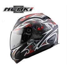 1pc 5colors High Quality ABS Material Nenki Brand Motorcycle Full Face Helmets Motocross Helmet Casco