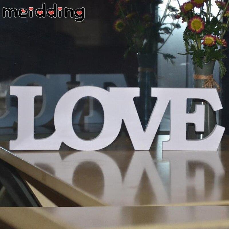 Meidding английский письмо Украшения ПВХ свадебные реквизит для фотосессии Свадебные признаки любовные письма для Свадьба Главная стены комна...