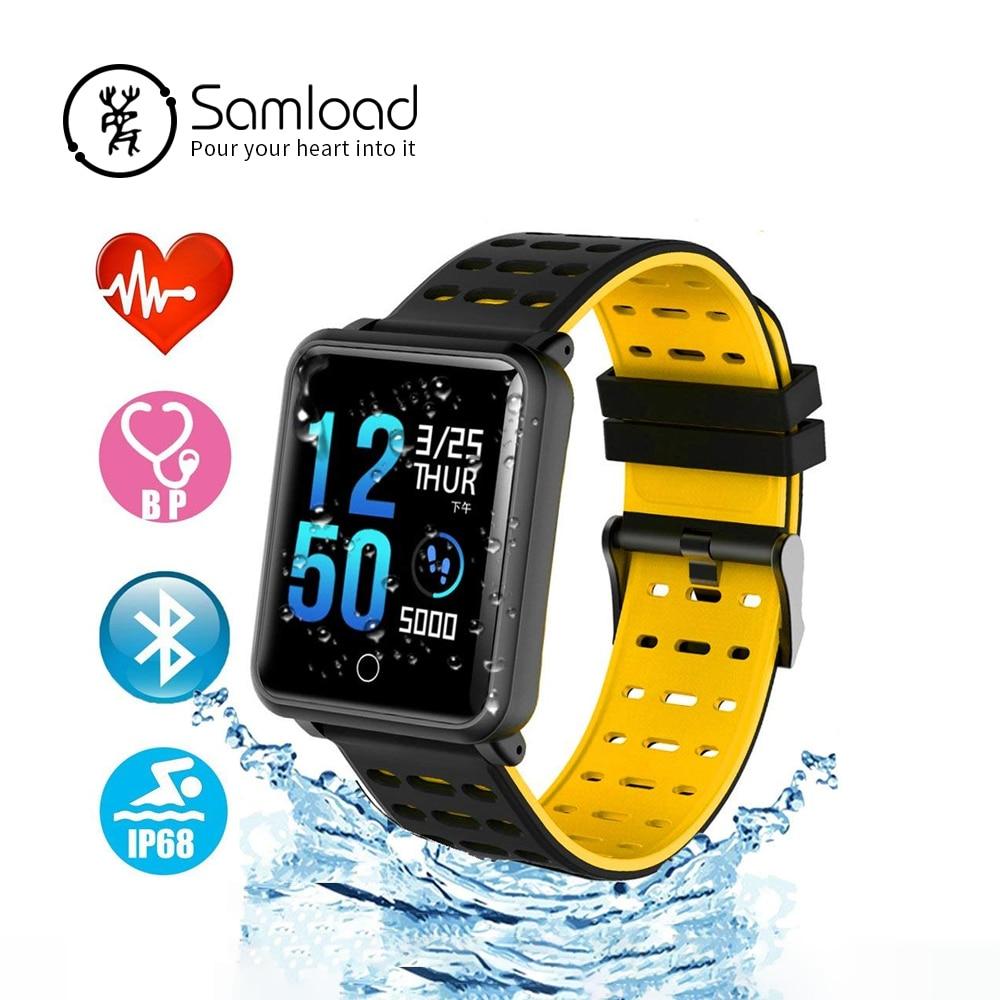 Color Smart Watch N88 Waterproof Smart bracelet Blood Pressure Heart Rate Smart Wristband Fitness Tracker Smart band PK xiaomi kyocera tk 160 1t02lz0nl0