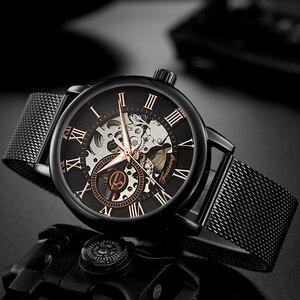 Image 1 - FORSINING Men Watch Top Luxury Brand Fashion Sports Mechanical Watches Mens Business Waterproof Wristwatch Relogio Masculino