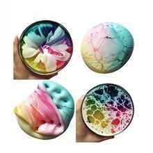 Tricolor mud mixed cloud plaster ebayWish crystal popular Slim slime