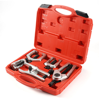 High Quality 5pcs Front End Service Tool Kit Ball Joint Separator Pitman Arm Puller Remover Tie