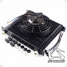 """19 صف AN10 المحرك الثقة 10.6 """"النفط برودة + 7"""" مروحة كهربائية ل SUV/فان/شاحنة"""
