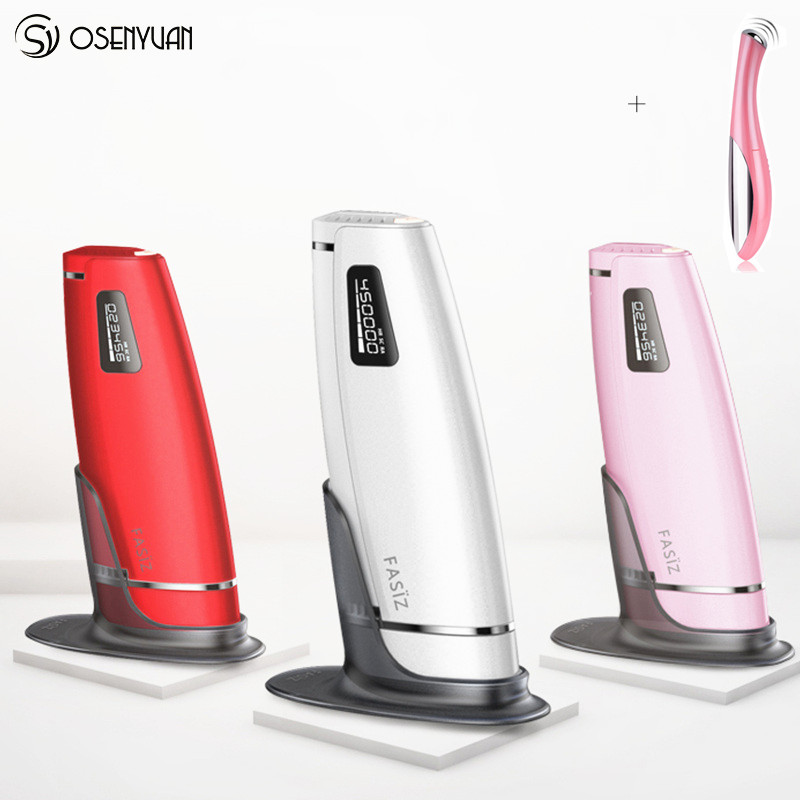цена на 600000 times 3in1 lescolton depilador a laser IPL Epilator Hair Removal LCD Display Machine Laser Permanent Bikini Trimmer