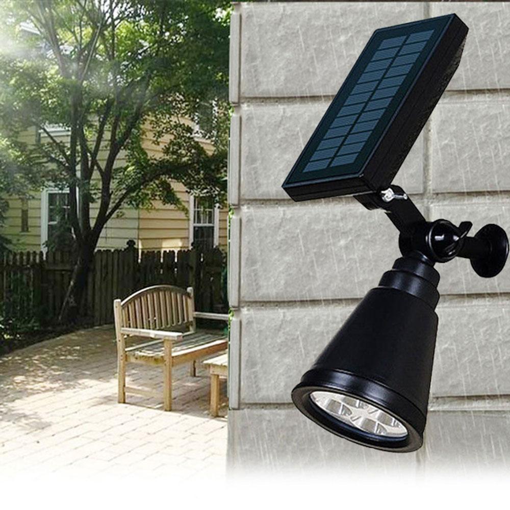 7LED Outdoor Solar Lamp sensor auto Waterproof Lawn Spotlight decor Adjustable Flood colorful party Garden landscape Lights