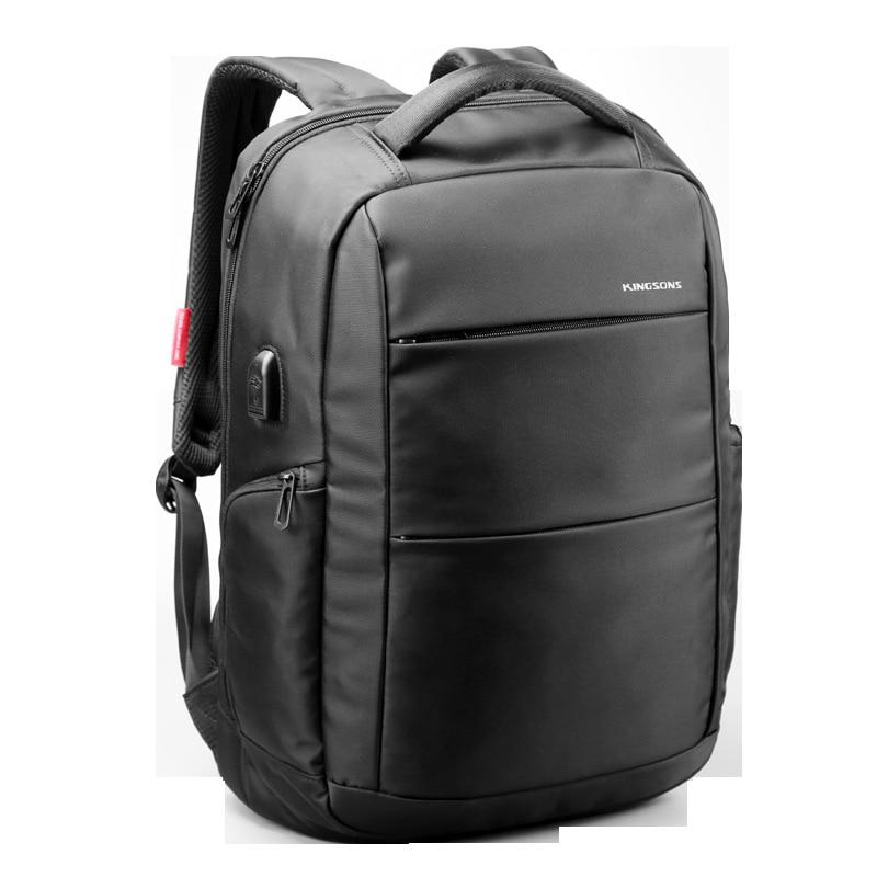 Kingsons Backpack Men and Women Usb Charging High Capacity Waterproof Anti-theft Laptop Backpack Bookbag Travel Backpack недорго, оригинальная цена