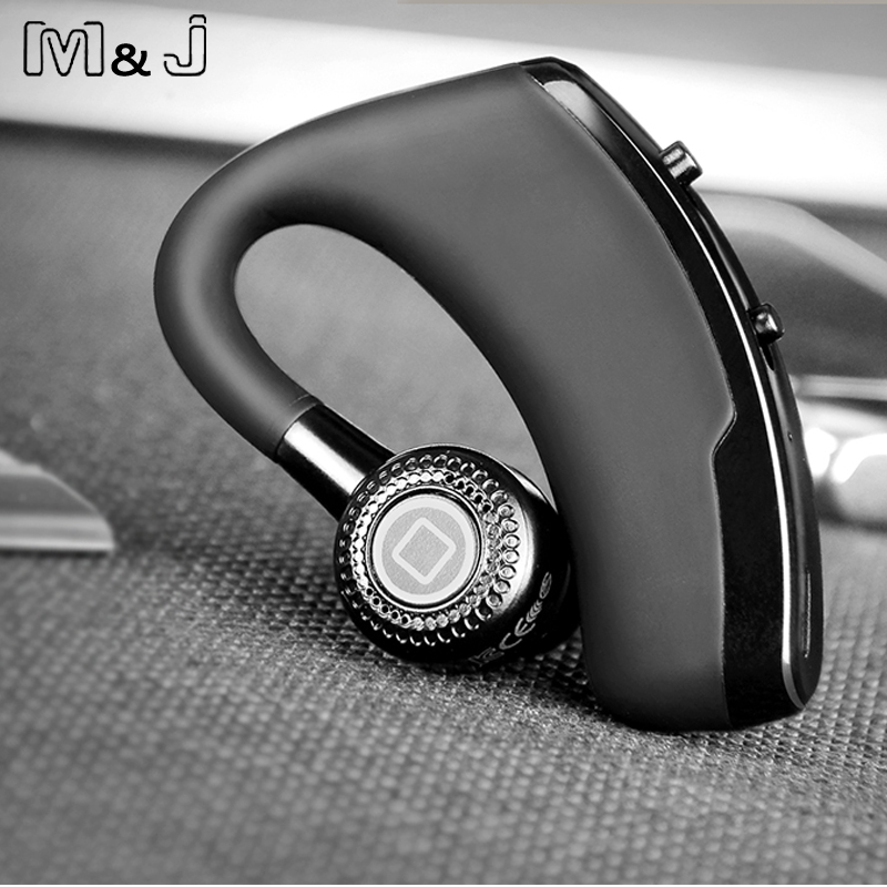 New V8 Business Bluetooth Headset Handsfree Wireless: M&J V9 Handsfree Business Bluetooth Headphone With Mic