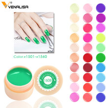 #50618 576~600 Pure Color Gel Nail Art Tips DIY Decoration CANNI Factory Price Painting LED&UV