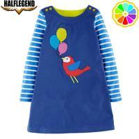 赤ちゃん女の子のドレス動物綿vestidoカジュアルドレス用リトルガールプリンセス衣装子供服漫画パーティー子供ドレ