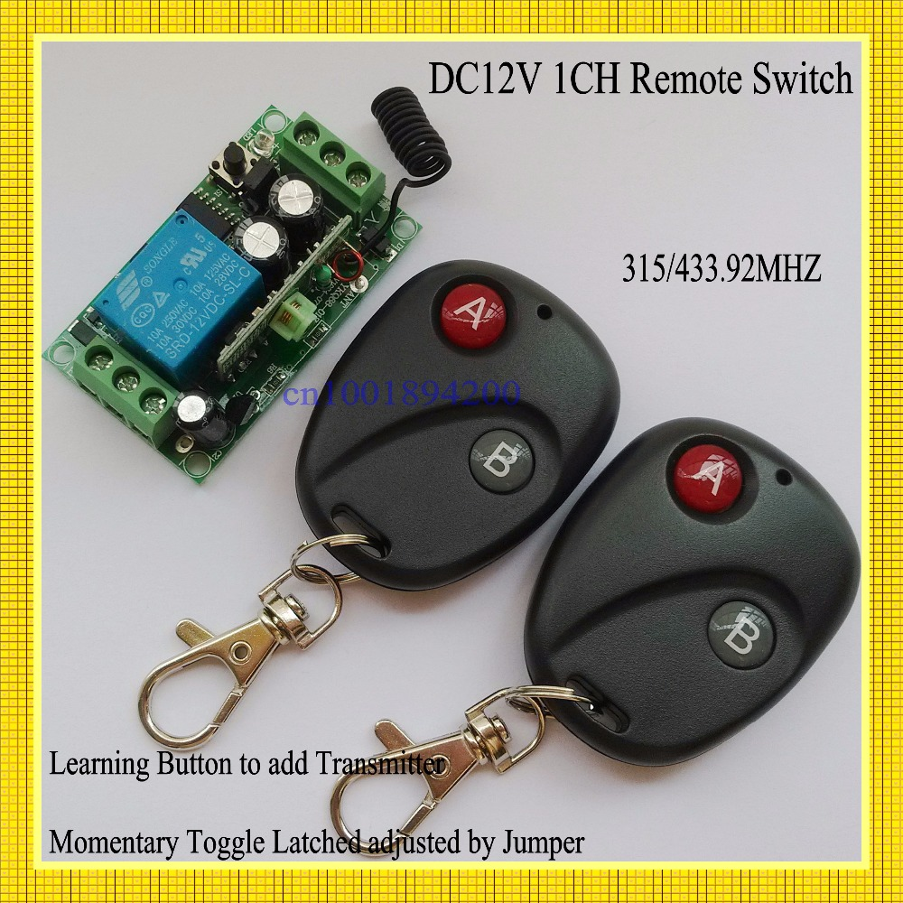 Aliexpress Com Buy Dc12v Radio Remote Control Switch