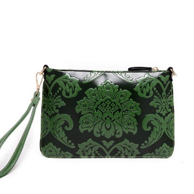 New Arrival Leather Women Embossed Clutch Bag Shoulder Bag Messenger Bag Day Clutch Handbag