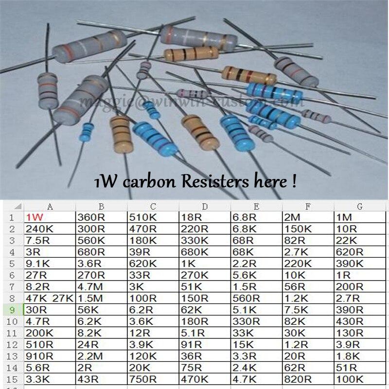 1w resistor доставка из Китая
