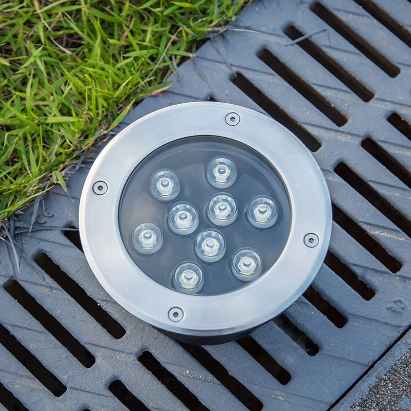 New 1w/3w/5w/6w/7w/9w/12w/15w/18w Led Outdoor Ground Garden Floor Underground Buried Lamp Spot Landscape Light Ac 85-265v Ip65