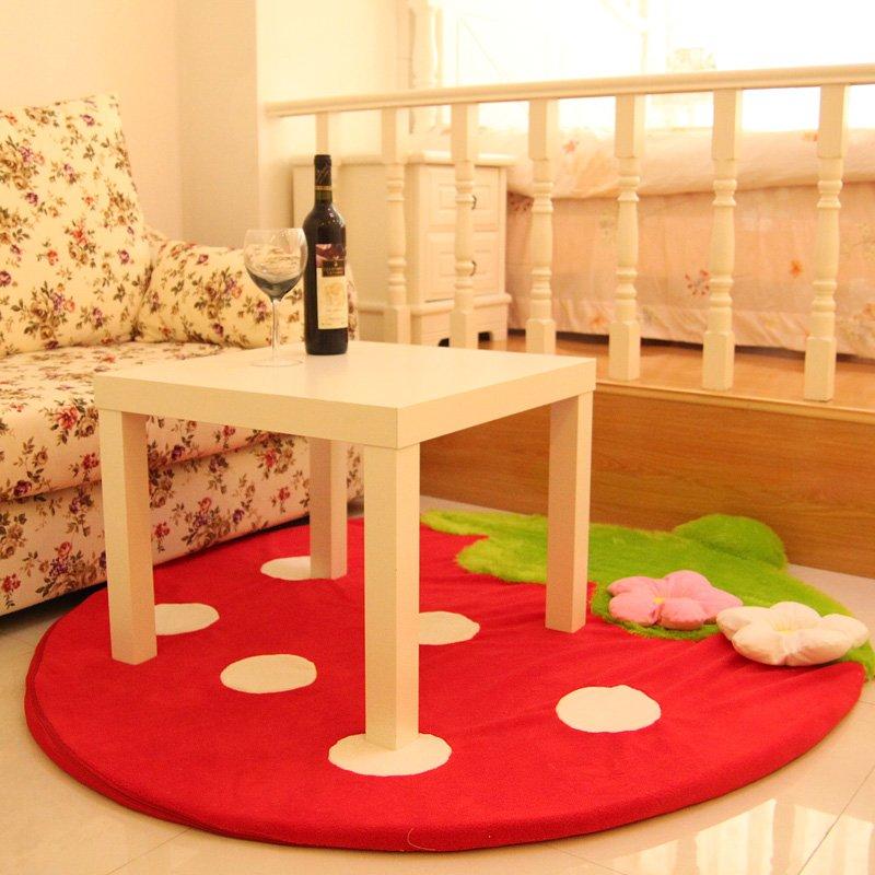Dessin animé fraise mignon ordinateur tapis et tapis pour enfants enfants Tapete Infantil Alfombras tapis enfant maison salon