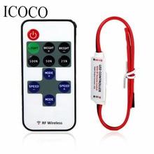 Мини-переключатель мини-линия контроллер/диммер дистанционным рф управлением диммер полосы контроллер беспроводной света