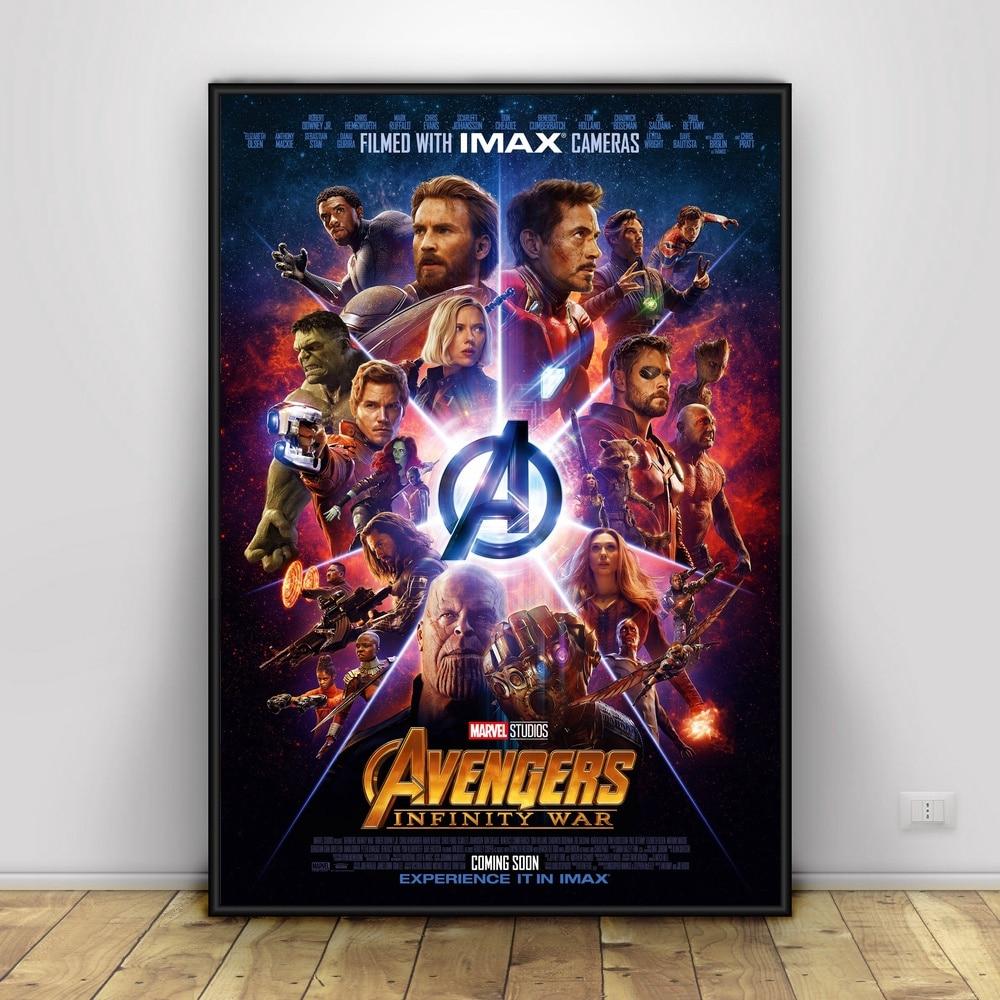 Avengers Infinity War Art Silk Poster Home Decor 12x18 24x36inch