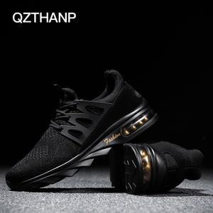 f93d9c2392f1 QZTHANP 2018 Luxury Casual Shoes Air Breathable Men Male