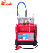 Diagauto Latest fuel injector cleaner & tester Ultrasonic cleaning trough built-in 4 jars injector cleaning machine MST-30