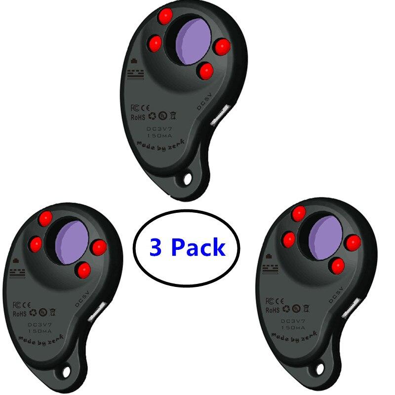 3 Pack Persoonlijke Bescherming Apparaat voor Vrouwen Anti Spy Lens Detectoren met Oplaadbare Batterij Een Knop Bediend Detectie X-in Verborgen cameradetector van Veiligheid en bescherming op AliExpress - 11.11_Dubbel 11Vrijgezellendag 1