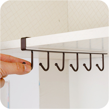 Závesný organizér – šikovný vešiak s háčikmi Organizer Hanging Hook Shelf