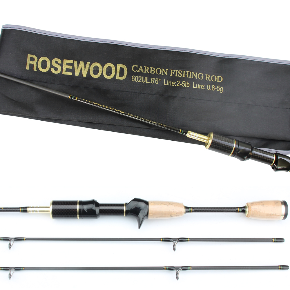 Buy rosewood double tips fishing rod for Best ultralight fishing rod