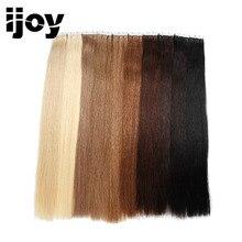 """IJOY 40G 2G / db Remy Straight brazil haj 18 """"20"""" 24 """"bőrtűs szalagpapír 100% -os emberi hajhosszabbítóhoz Kétoldalas szalag haj"""