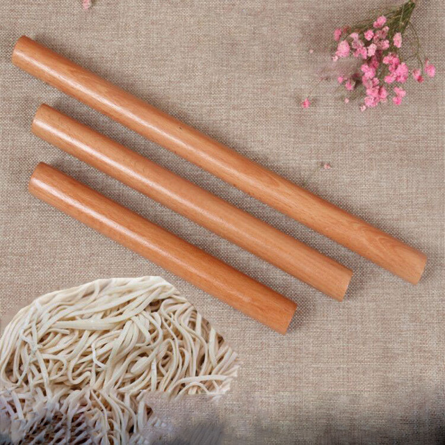 5 Size Kitchen Wooden Rolling Pin Fondant Cake Decoration Dough Roller Baking kitchen Cooking Tools Accessories