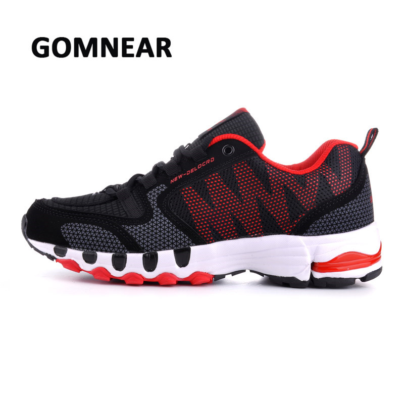 GOMNEAR Running Shoes For Men Breathable Womens Running Shoes Sports Man Sneakers Comfortable Big Size Running Zapatos Hombre