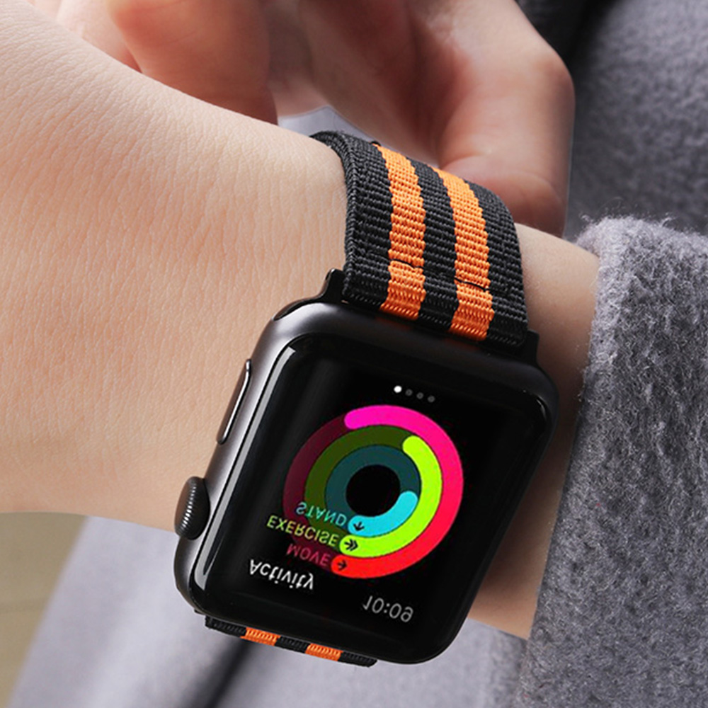 XIYUZHIYI Hot Sell Nylon Watchband for Apple Watch Band Series 3/2/1 Sport Leather Bracelet 42 mm 38 mm Strap For iwatch Band