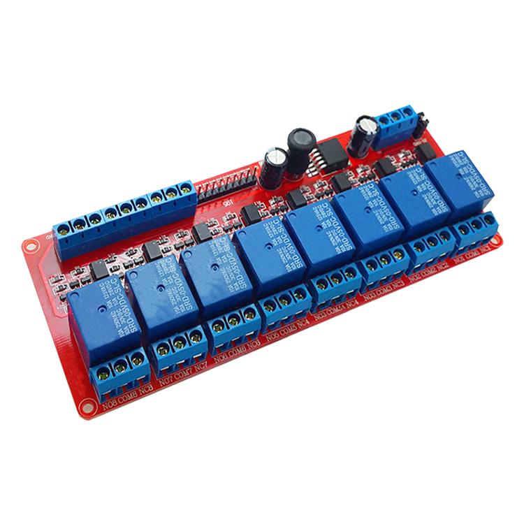 8 wide voltage 5-30V relay module PLC Home Furnishing intelligent automation control 8 relay module 2pcs 1pcs om e2e x3d1 m1g 5pf7 plc automation plc module industry industrial use d