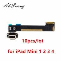 AliSunny 10 stücke Lade Flex Kabel für iPad Mini 1 2 3 4 Ladegerät Port USB Dock Connector für iPad mini 4 Ersatz Teile