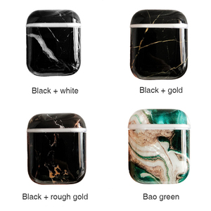 Image 5 - Soft Marble Earphones Case For Apple Airpods 2 1 i7 i10 Earbuds TPU Skin Cover Girl Women Protective Cover Shell Birthday Gifts