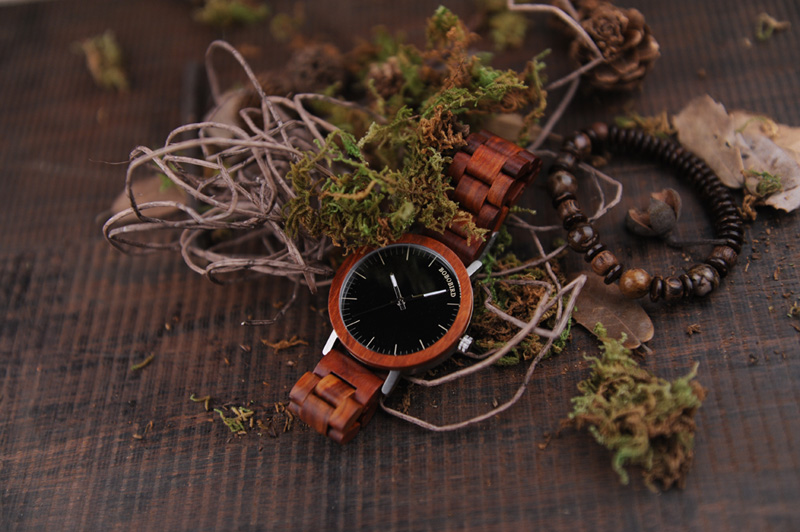 red wood band bobo bird watches for men (3)